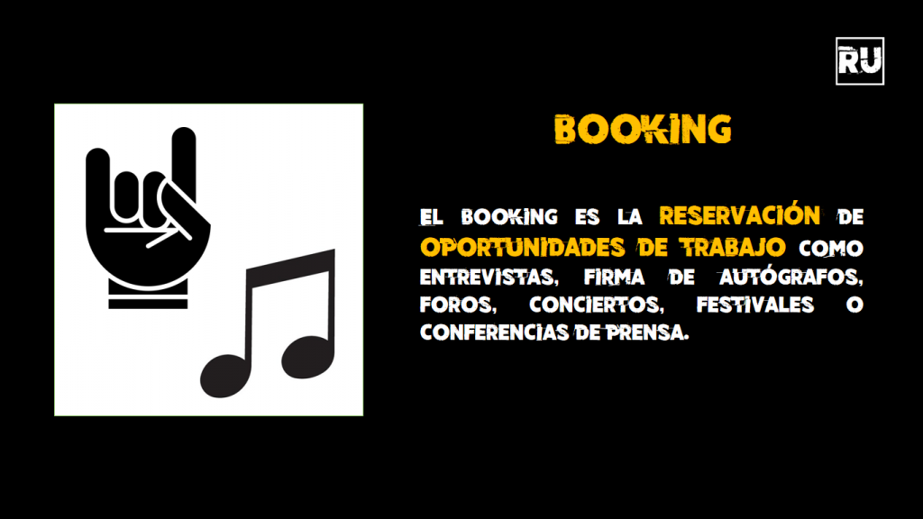 Manager y Booking