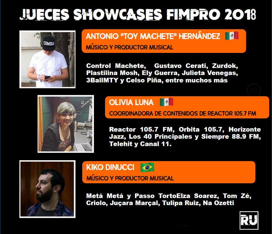 Jueces Fimpro 2018