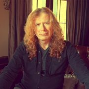 Dave Mustain, fundador, guitarrista y vocalista de la banda de metal Megadeth, fue diagnosticado con cáncer de garganta