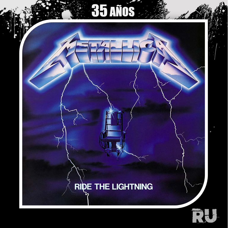 Right The Lightning, segundo disco de Metallica cumple 35 años