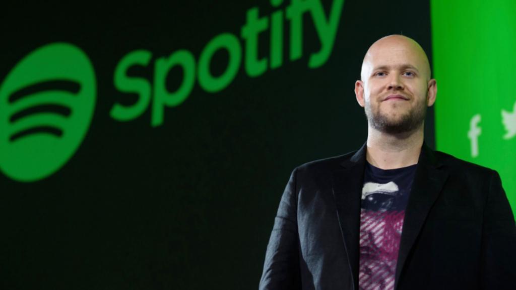 CEO de Spotify Daniel Ek 2020